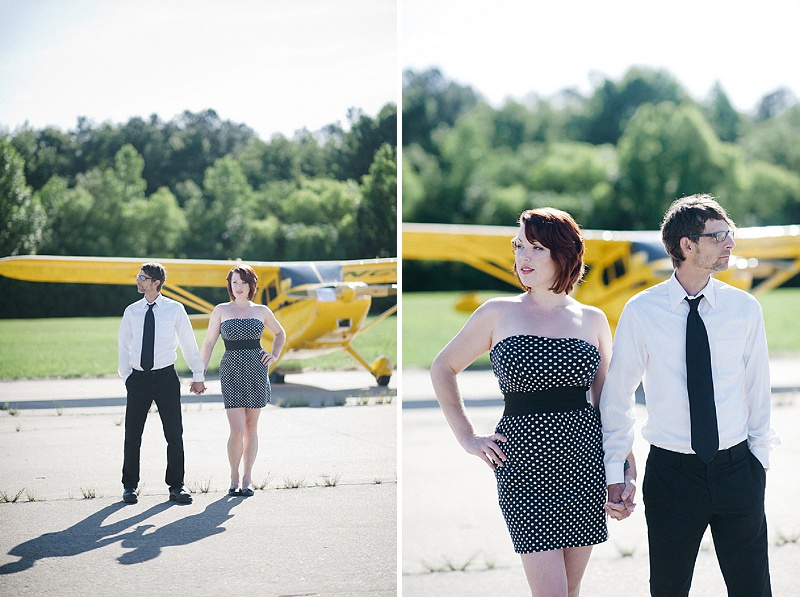 airport hanger engagement pictures virginia (7)