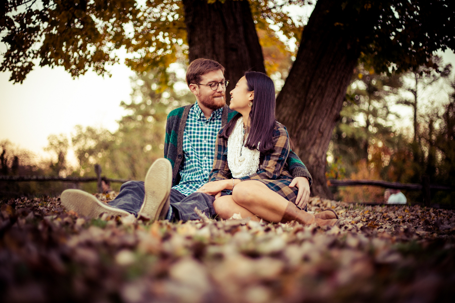 hipster virginia engagement pictures fall (11)
