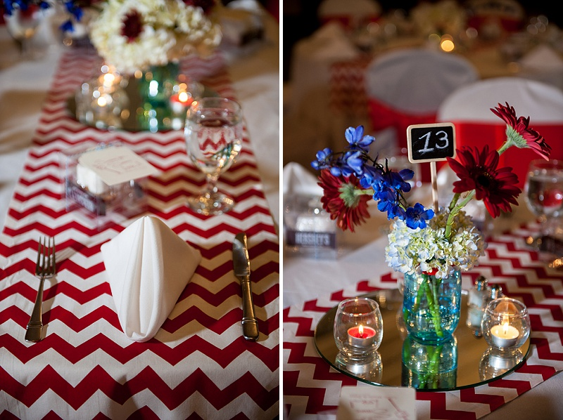 rustic DIY red white blue Virginia wedding (13)