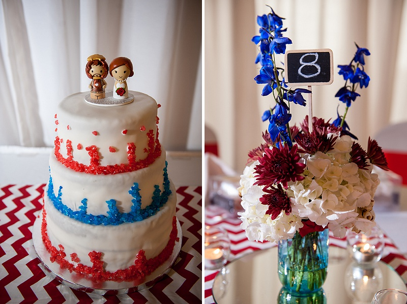 rustic DIY red white blue Virginia wedding (15)