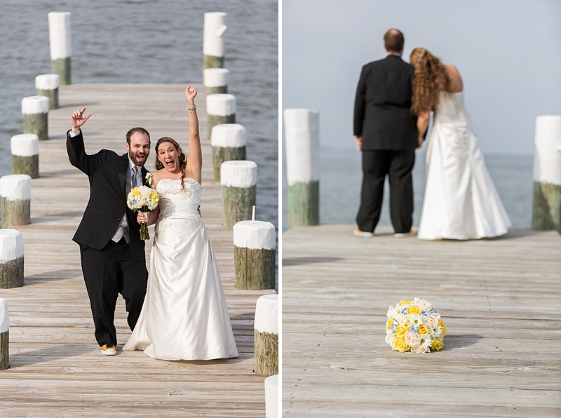 waterfront maryland wedding beach themed (12)