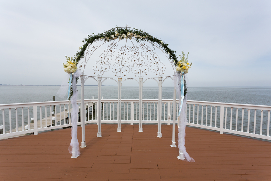 waterfront maryland wedding beach themed (21)