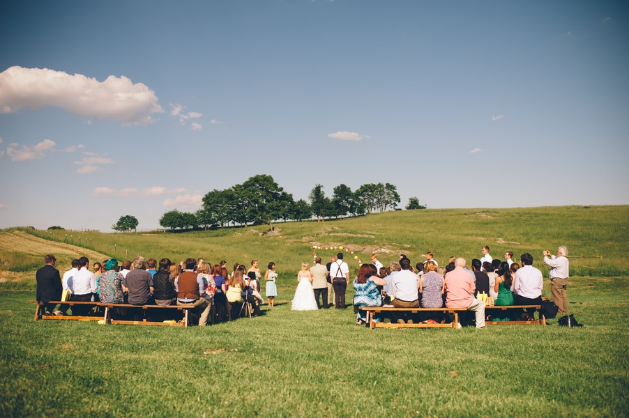 thrift store travel themed barn wedding virginia pictures (2)