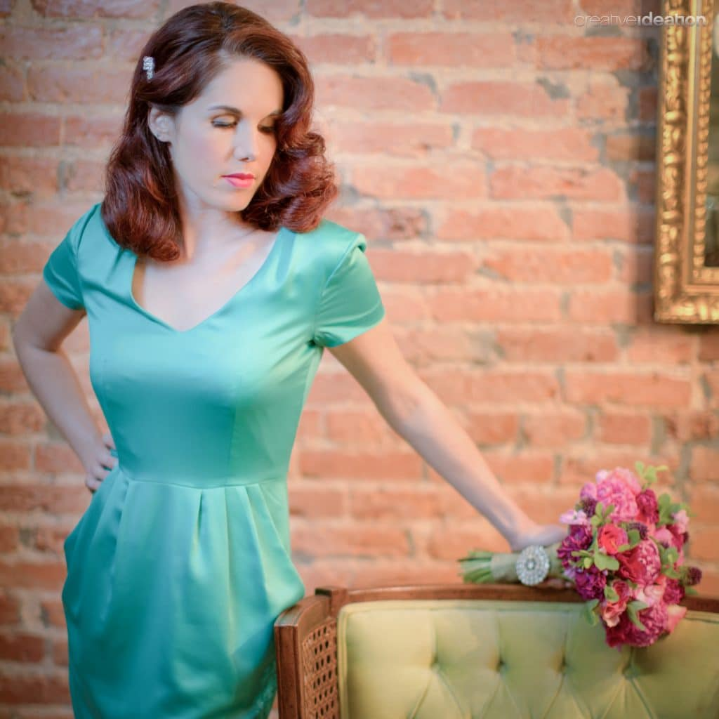 Capitol Inspiration: 1950s & 1960s Bridesmaid Hair And