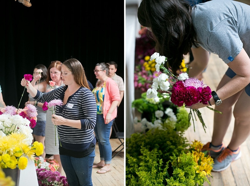 DIY bouquets and boutonniers workshop (11)