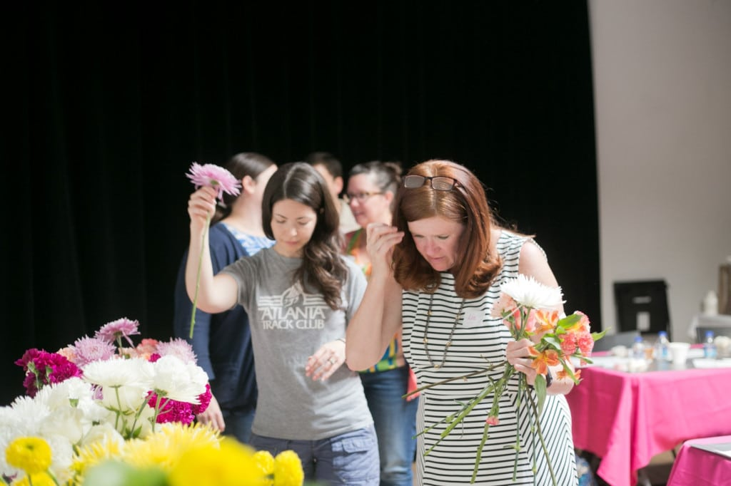 DIY bouquets and boutonniers workshop (16)