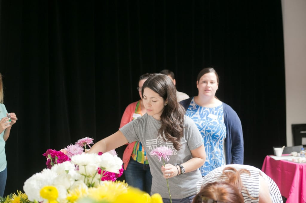 DIY bouquets and boutonniers workshop (17)