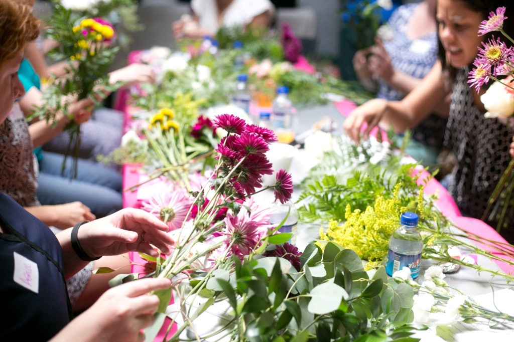 DIY bouquets and boutonniers workshop (19)