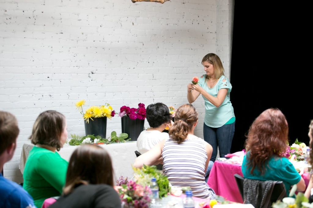 DIY bouquets and boutonniers workshop (5)
