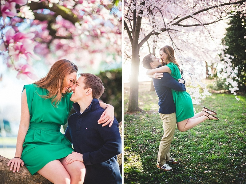 dc cherry blossom engagement pictures (4)