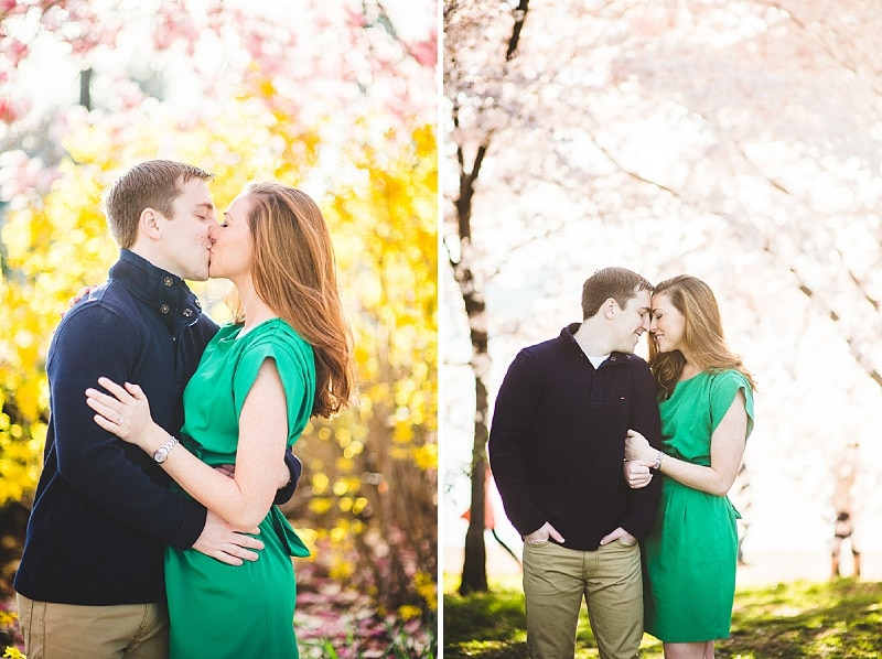 dc cherry blossom engagement pictures (5)