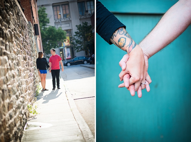 baltimore MD record store engagement pictures (4)