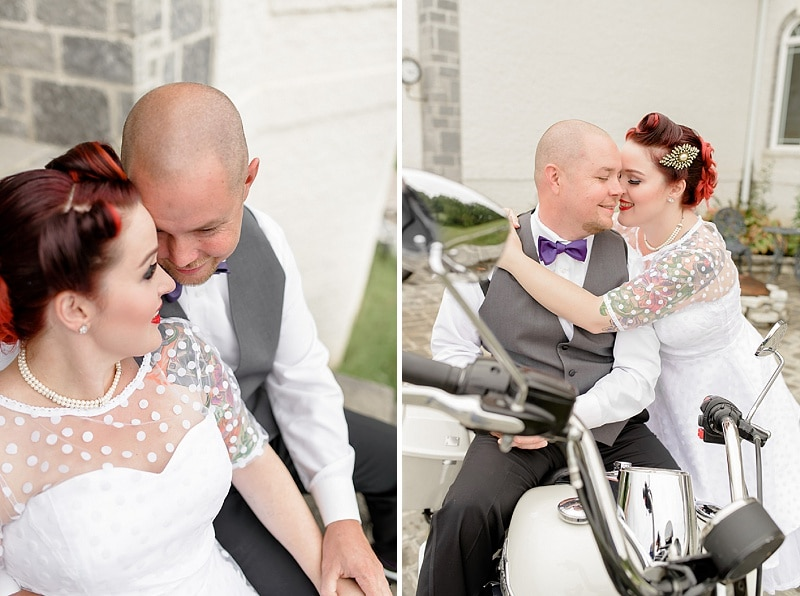 rockabilly rock and roll virginia wedding pictures (1)