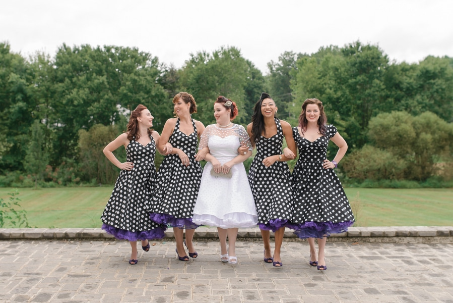 rockabilly rock and roll virginia wedding pictures (11)