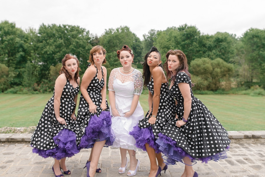 rockabilly rock and roll virginia wedding pictures (12)