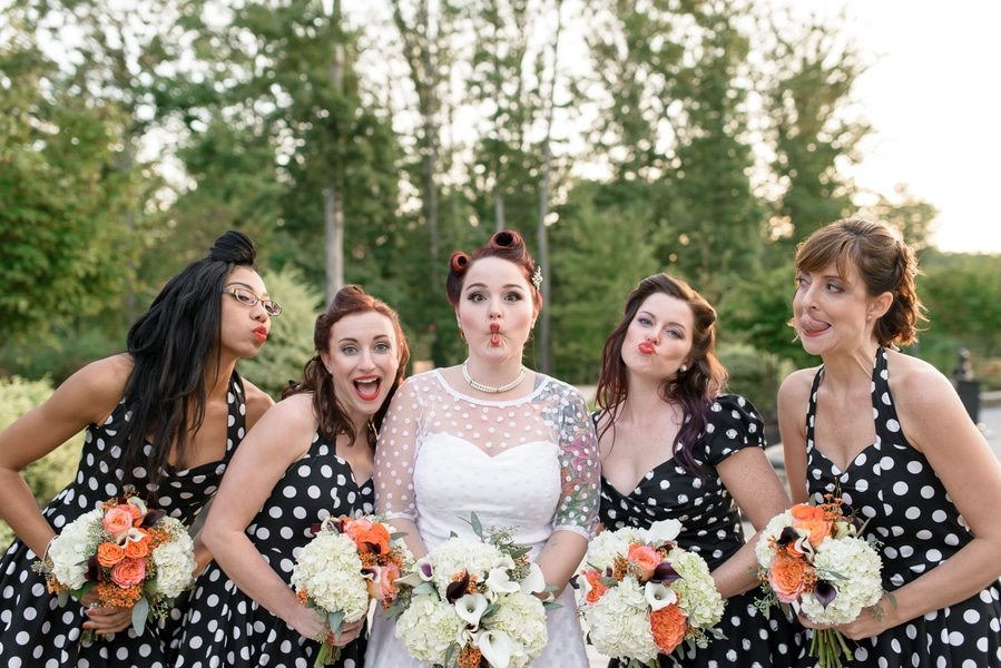 rockabilly rock and roll virginia wedding pictures (19)