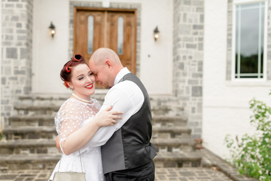 rockabilly rock and roll virginia wedding pictures (8)