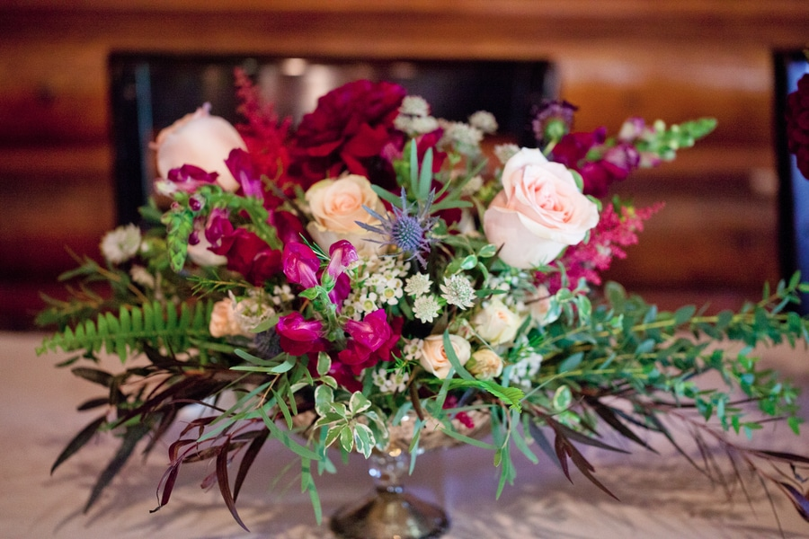 mountainside colorado wedding inspiration pictures flowers (12)