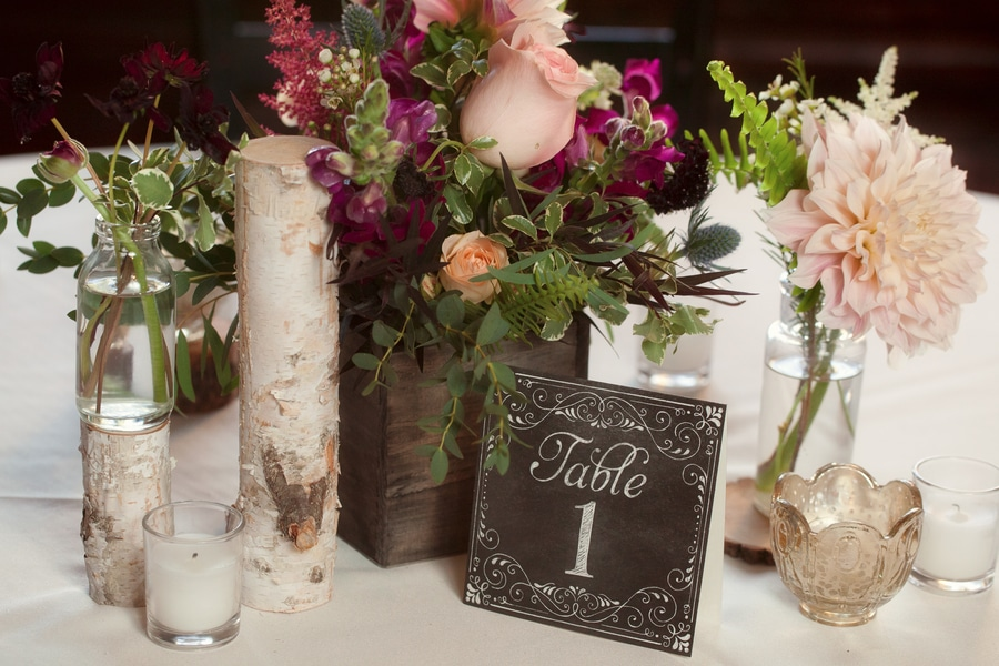 mountainside colorado wedding inspiration pictures flowers (4)