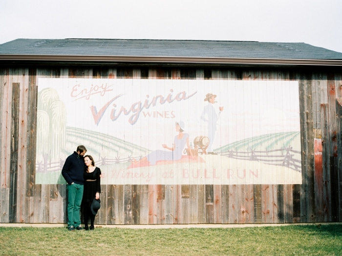 beautiful Virginia engagement pictures bull run winery H Mart supermarket (4)