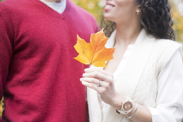 Fall engagement pictures Washington DC national arboretum (12)