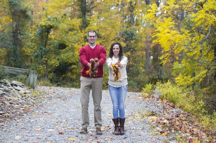 Fall engagement pictures Washington DC national arboretum (14)