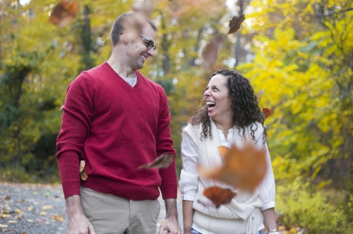 Fall engagement pictures Washington DC national arboretum (3)