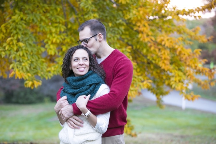 Fall engagement pictures Washington DC national arboretum (5)