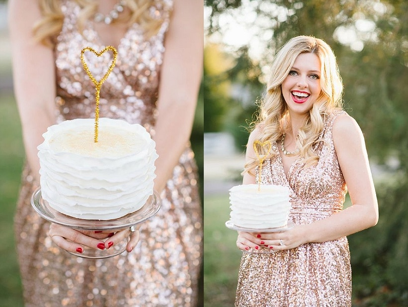 modern glitter gold red valentines day wedding pictures (2)