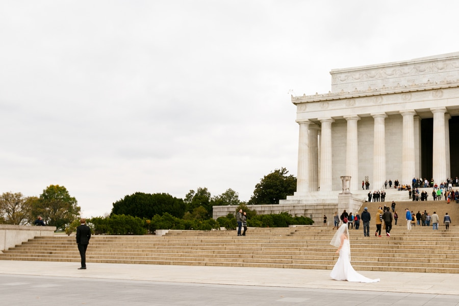 washington dc wedding pictures carnegie institution science black gold (27)