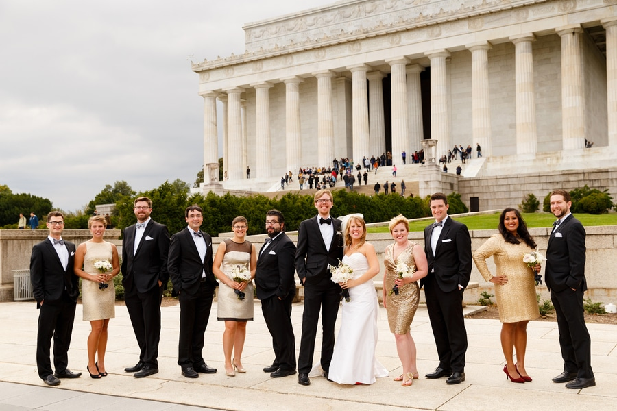 washington dc wedding pictures carnegie institution science black gold (3)
