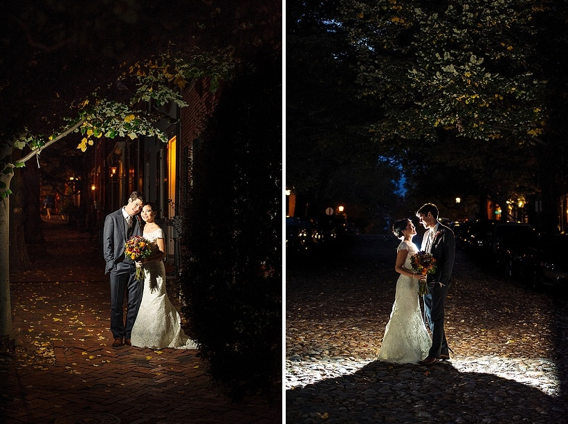 intimate Fall Old Town Alexandria Virginia wedding pictures (16)