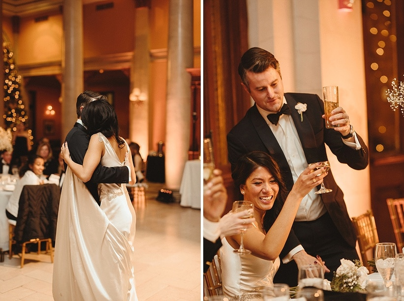 modern gold new years eve wedding richmond virginia (16)