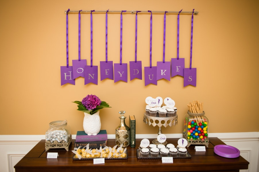 Jenny's Harry Potter Themed Bridal Shower
