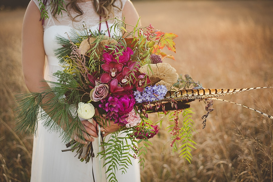 modern organic bohemian wedding bridal pictures (5)