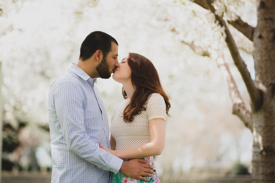 modern cherry blossom engagement pictures washington dc (4)