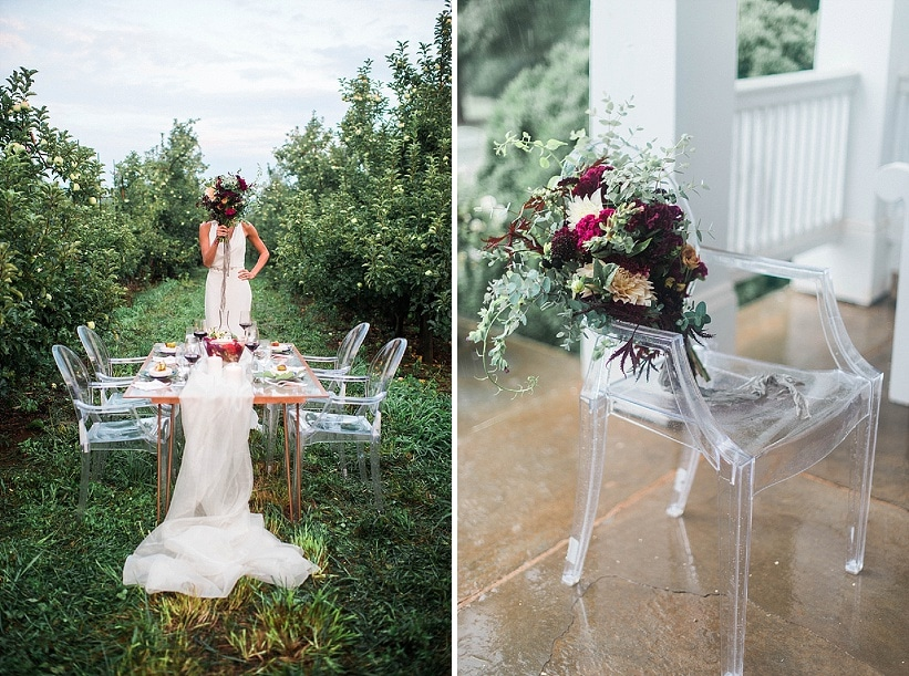 modern orchard wedding ideas design decorations (5)