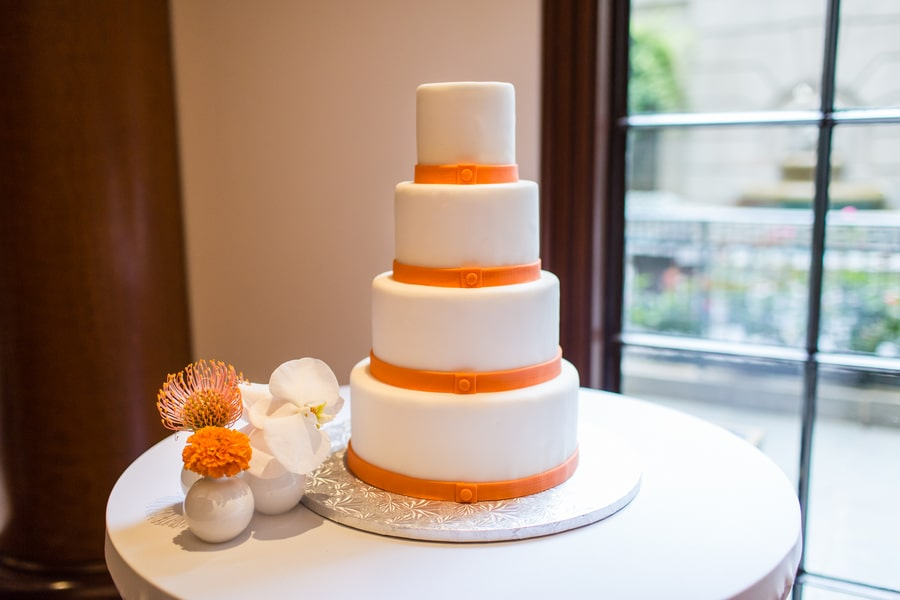 modern same sex orange themed DC wedding (15)