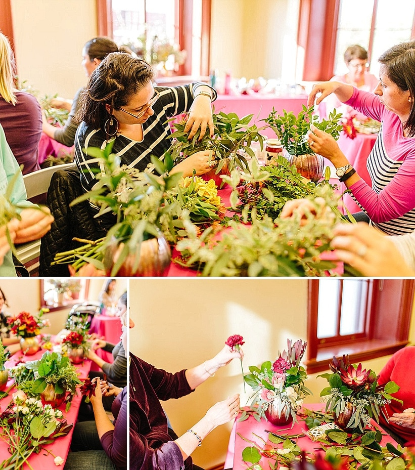 DIY flower arrangement workshops DC (2)