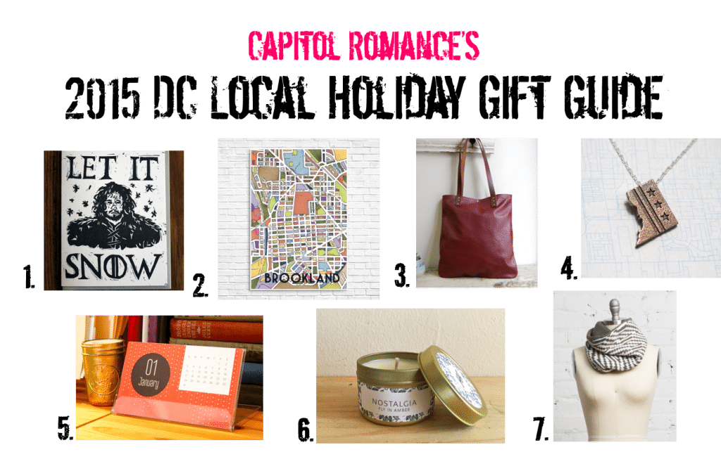 Local Dc Small Business Holiday Gift Guide Capitol Romance