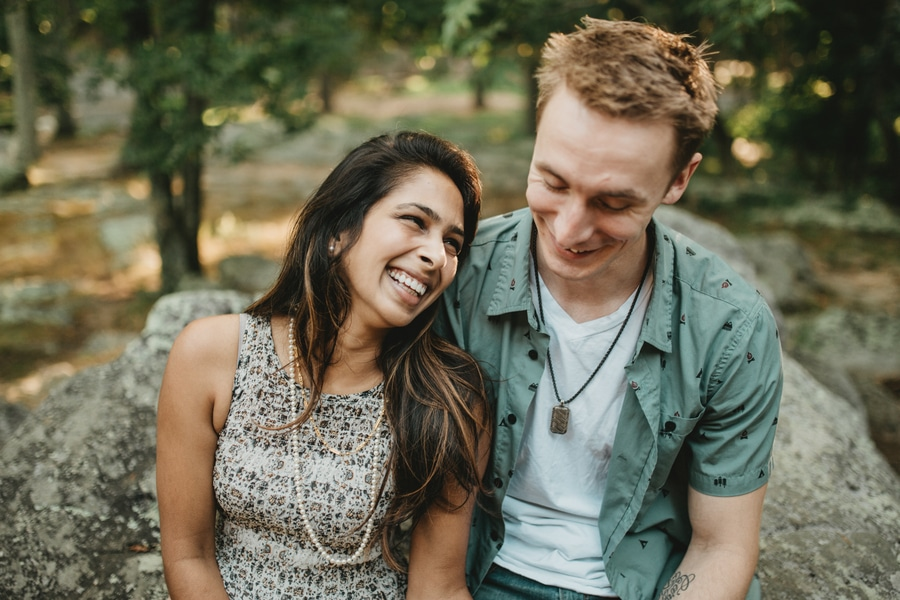 alternative maryland hiking sugarloaf mountain engagement pictures (5)