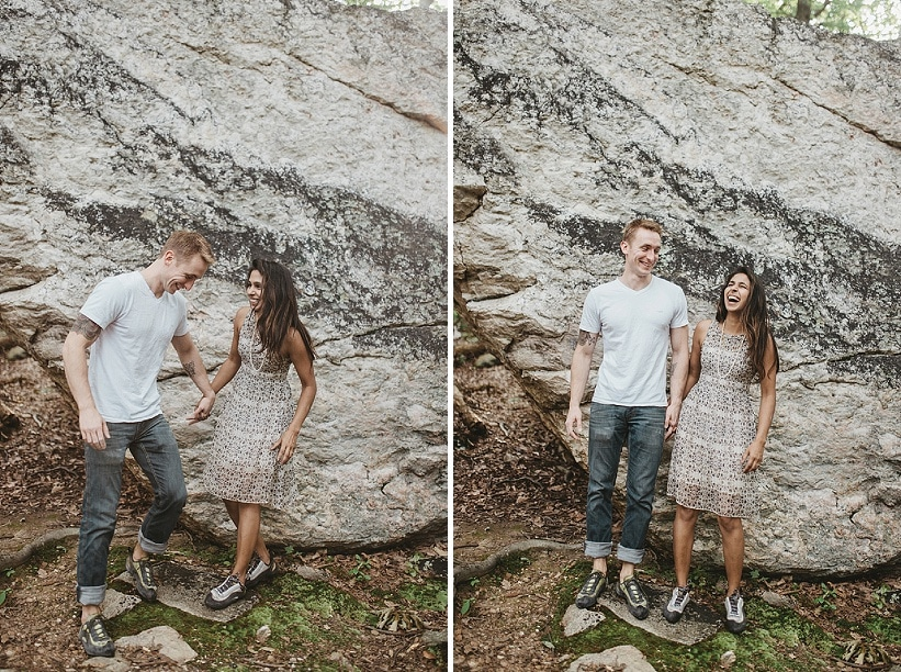 alternative maryland hiking sugarloaf mountain engagement pictures (9)