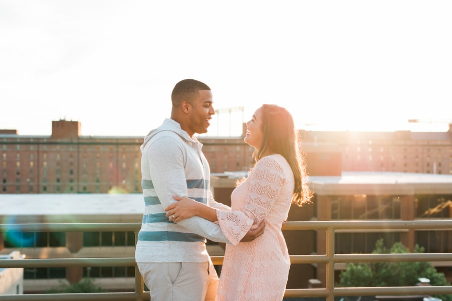 baltimore rooftop engagements pictures (3)