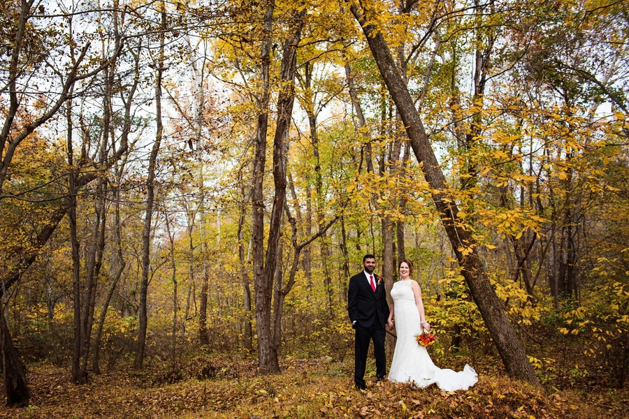 multicultural indian american virginia winery wedding fall themed winery at fine creek (13)