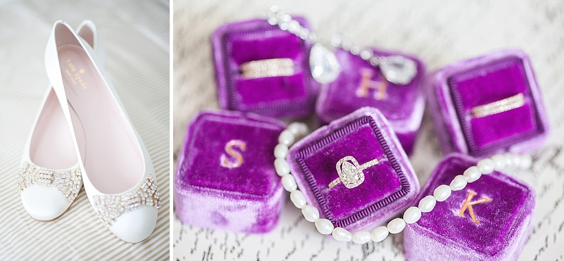 intimate DC elopement romantic purple wedding details decorations (10)