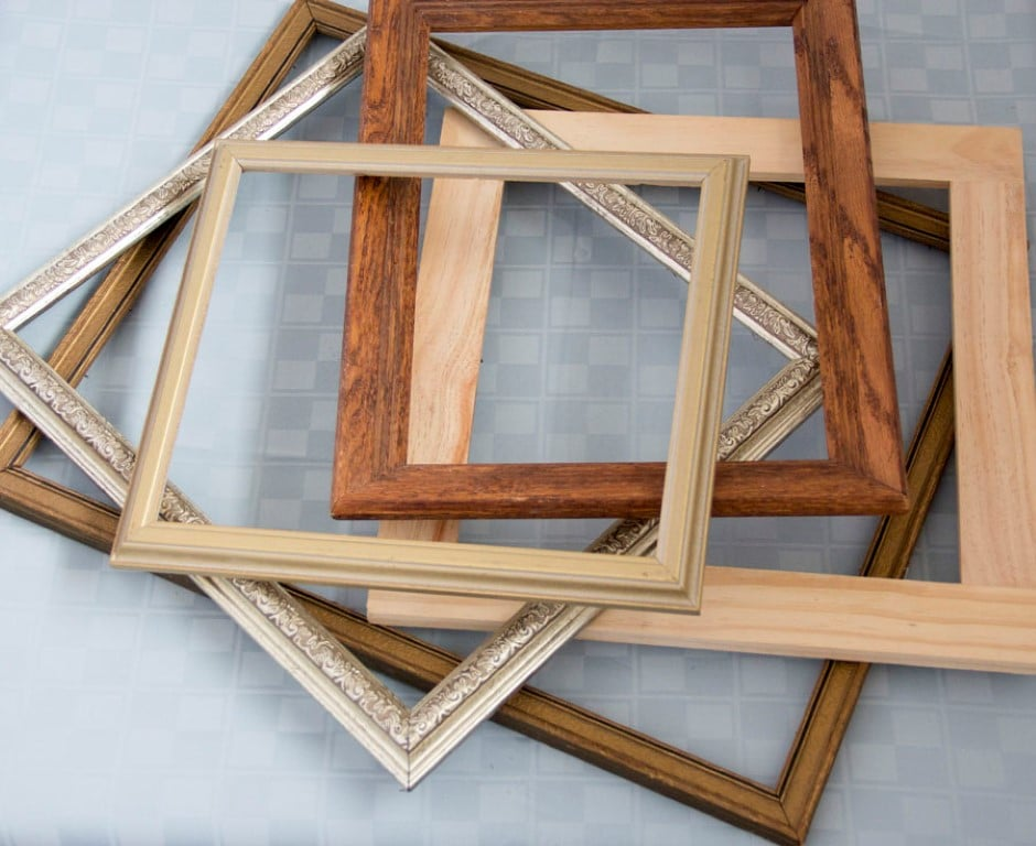 Bride to be guest blog diy serving tray tutorial using frames diy wood frame serving tray tutorial 1 solutioingenieria Images
