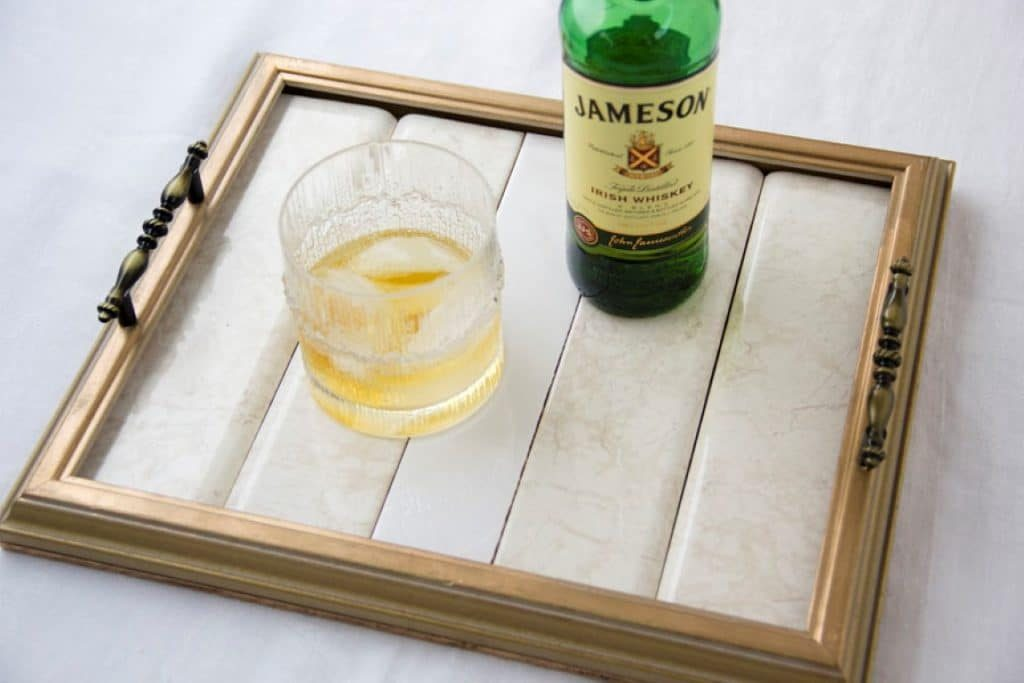 Bride to be guest blog diy serving tray tutorial using frames diy wood frame serving tray tutorial 24 solutioingenieria Images