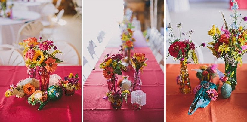 festival themed DIY rainbox colorful west virginia wedding (16)