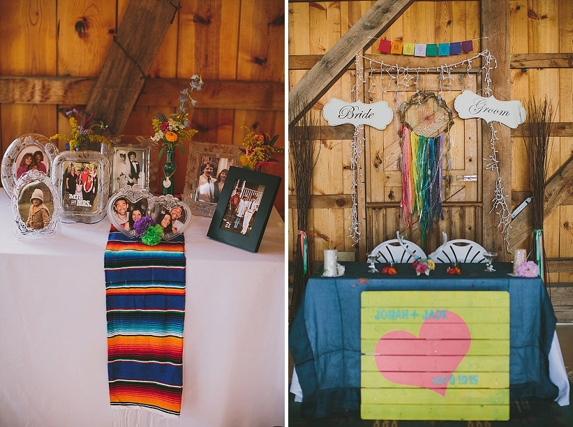 festival themed DIY rainbox colorful west virginia wedding (18)