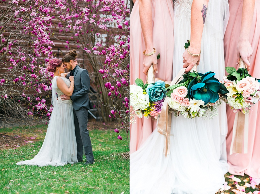 teal purple light pink wedding inspiration details pictures3